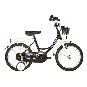 """Vermont City Police - Vélo enfant - 18"""" blanc/noir"""